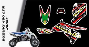 Kit déco quad suzuki 450 LTR joker (PARADISE Déco)