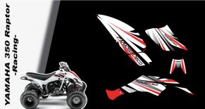 Kit déco quad yamaha 350 raptor racing (PARADISE Déco)