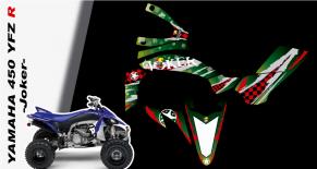 Kit déco quad yamaha 450 YFZ R joker (PARADISE Déco)