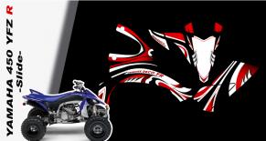 Kit déco quad yamaha 450 YFZ R slide (PARADISE Déco)