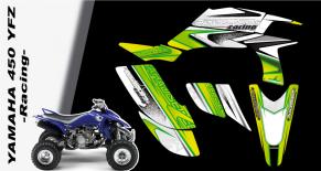 Kit déco quad yamaha 450 YFZ racing (PARADISE Déco)