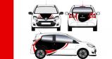 Stickers Renault twingo rallye 1 (PARADISE Déco)