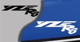 Stickers yamaha YZF R6 (PARADISE Déco)