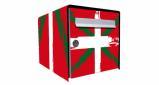Stickers face avant boite basque (PARADISE Déco)