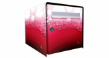 Stickers face avant boite rose liquide (PARADISE Déco)