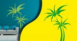Stickers palmier (PARADISE Déco)