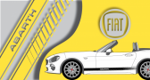 Stickers Fiat 124 spider abarth latéral (PARADISE Déco)