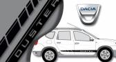 Stickers Dacia bandes latérales Duster 2 (PARADISE Déco)