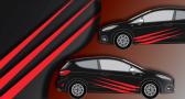 Stickers rallye kart cross kit rayure (PARADISE Déco)