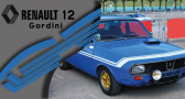 Stickers renault 12 gordini (PARADISE Déco)