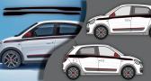 Stickers Renault gt twingo 2 (PARADISE Déco)
