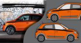 Stickers Renault gt twingo 3 (PARADISE Déco)