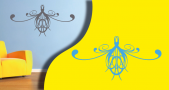 stickers arabesque (PARADISE Déco)