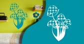 Stickers champifoli (PARADISE Déco)