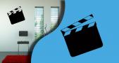 Stickers clap cinema (PARADISE Déco)