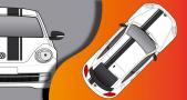 Stickers VW COX edition (PARADISE Déco)