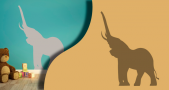 Stickers elephant 2 (PARADISE Déco)