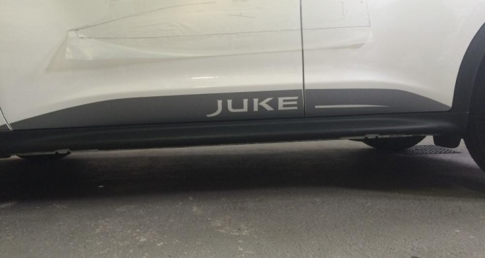 Tous stickers lateraux nissan juke for Nissan juke violett