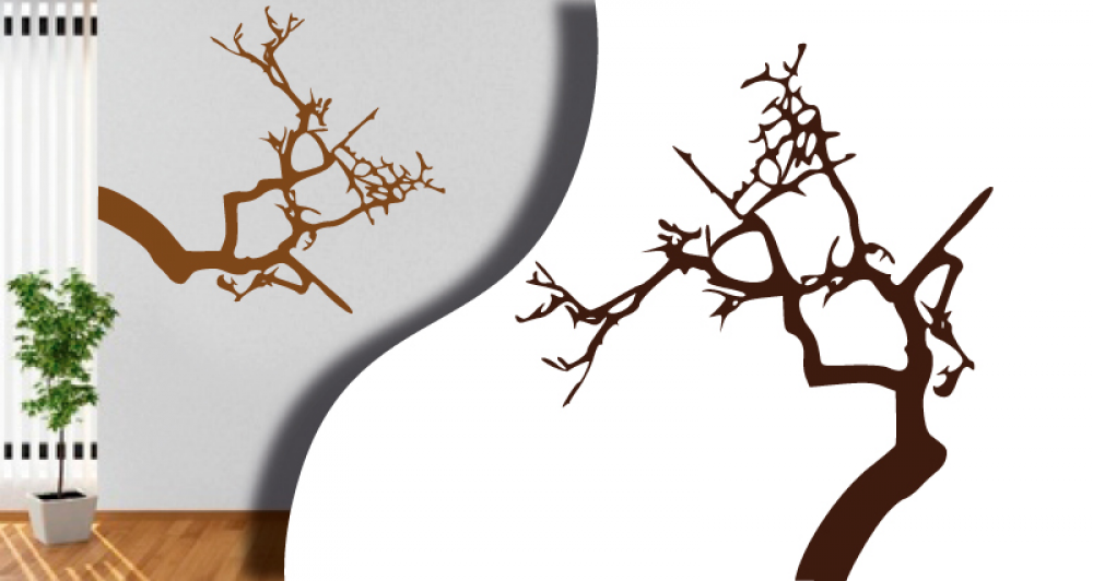 tous stickers arbre branche. Black Bedroom Furniture Sets. Home Design Ideas
