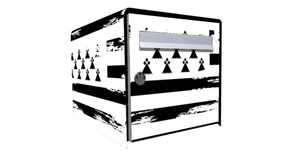 tous stickers boite aux lettres bretonne. Black Bedroom Furniture Sets. Home Design Ideas