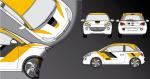 Stickers Opel adam sport (PARADISE Déco)