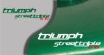 Stickers triumph street triple (PARADISE Déco)