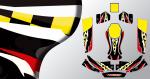 Kit déco karting KG evo joker (PARADISE Déco)