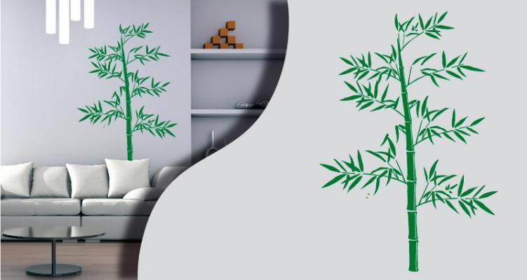 Stickers bambou 2 (PARADISE Déco)