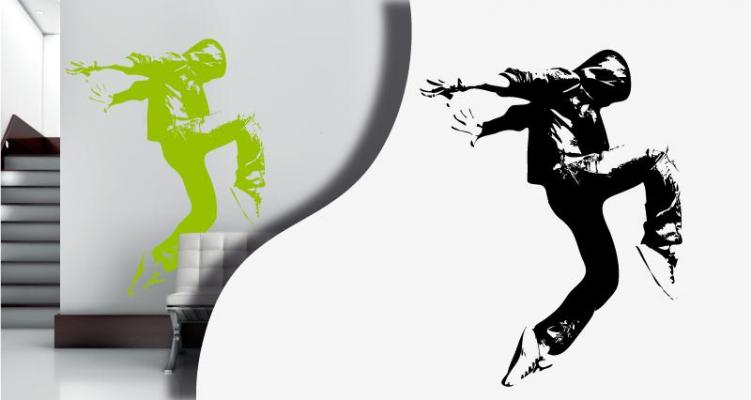 Stickers breakdancer (PARADISE Déco)