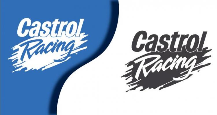 Stickers castrol 5 (PARADISE Déco)