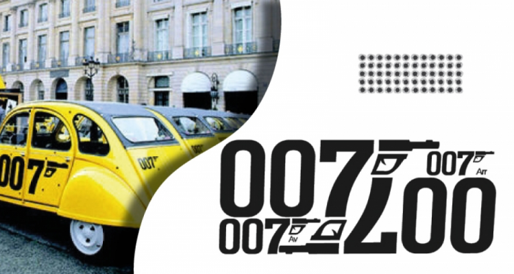 stickers 2cv 007