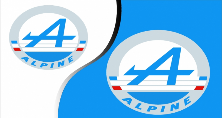 Stickers alpine renault 1 (PARADISE Déco)