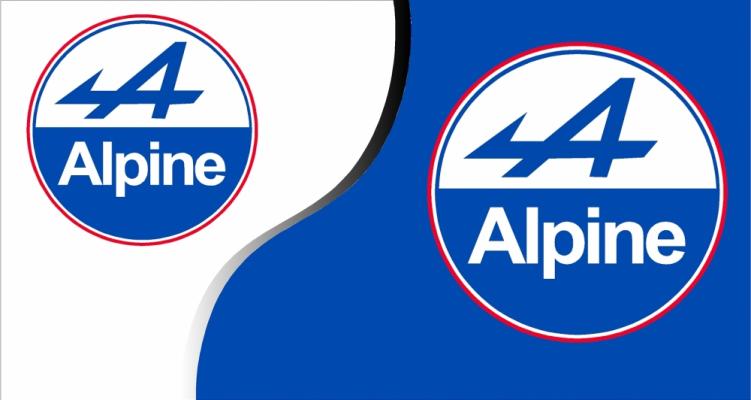 Stickers Alpine Renault 2 (PARADISE Déco)