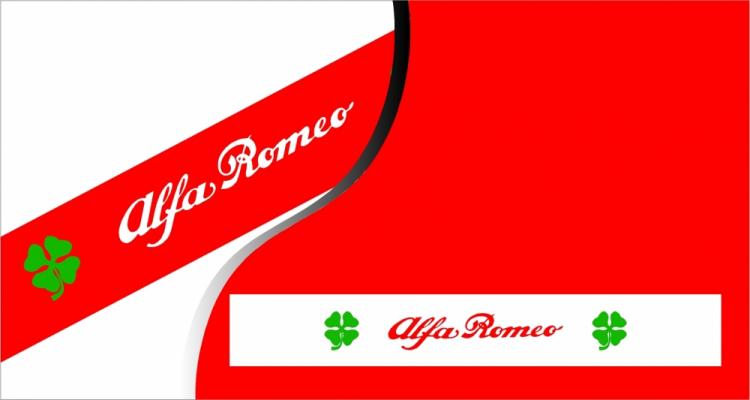Stickers pare soleil Alfa Romeo Delta Corse (PARADISE Déco)
