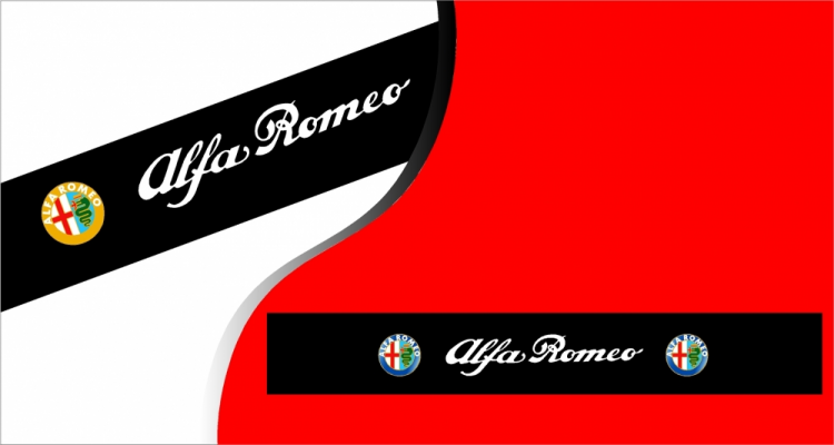 stickers pare soleil logo alfa romeo. Black Bedroom Furniture Sets. Home Design Ideas