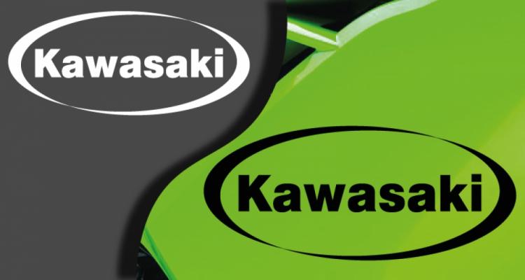 Stickers logo kawasaki 2 (PARADISE Déco)