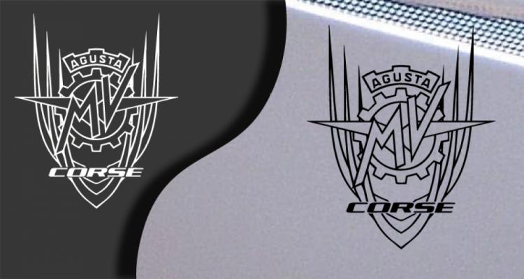 Stickers MV Agusta corse (PARADISE Déco)