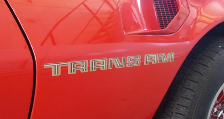 Stickers Pontiac TRANS AM 78' 79' 80' (PARADISE Déco)