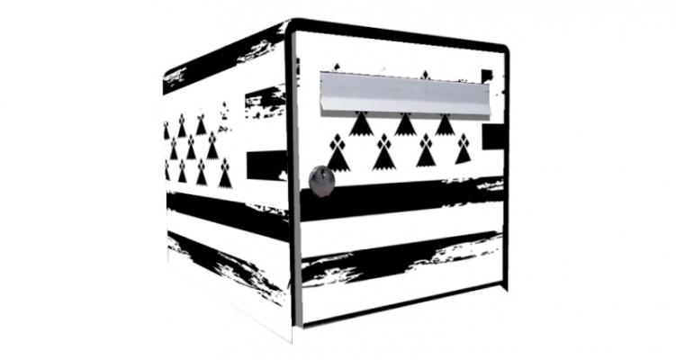 stickers boite aux lettres bretonne. Black Bedroom Furniture Sets. Home Design Ideas