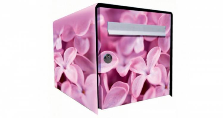 Stickers face avant boite violette (PARADISE Déco)