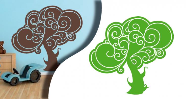 Stickers arbre-feerique (PARADISE Déco)