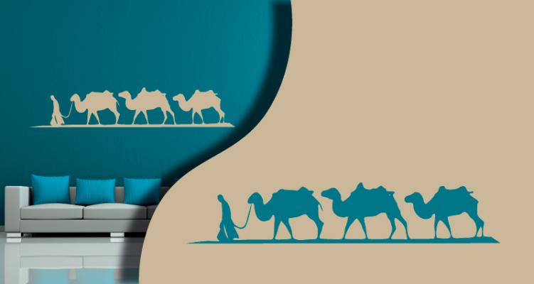 Stickers chameaux (PARADISE Déco)