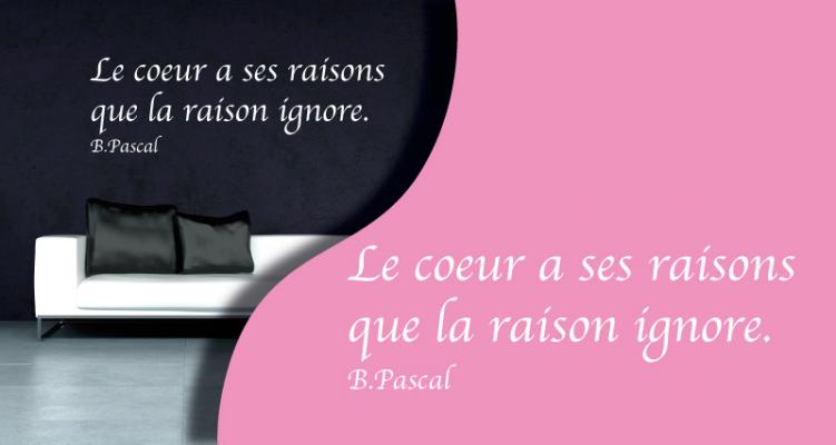 Stickers citation4 (PARADISE Déco)