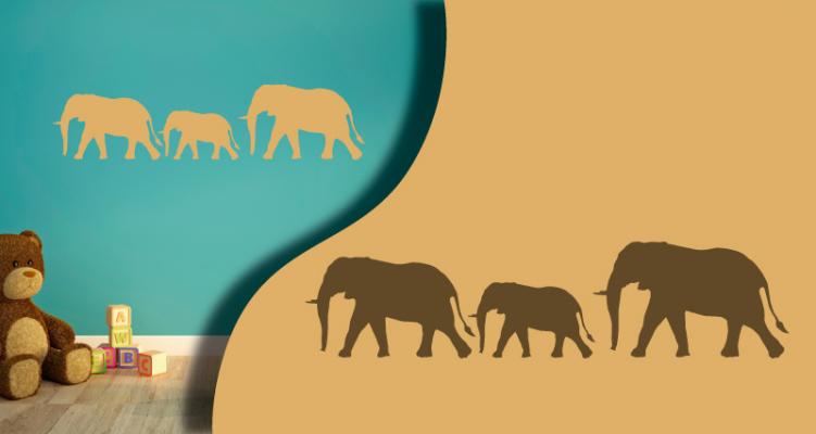 Stickers elephant (PARADISE Déco)