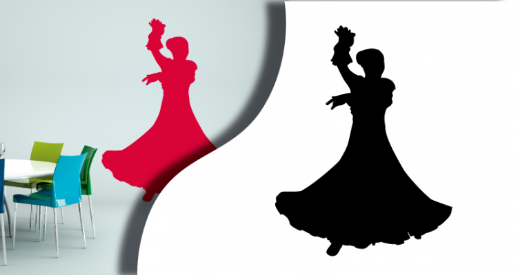 Stickers flamenco (PARADISE Déco)