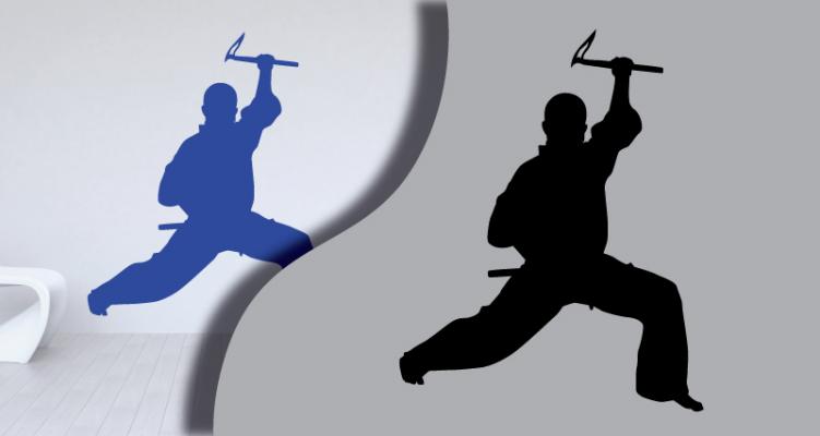 Stickers karate1 (PARADISE Déco)
