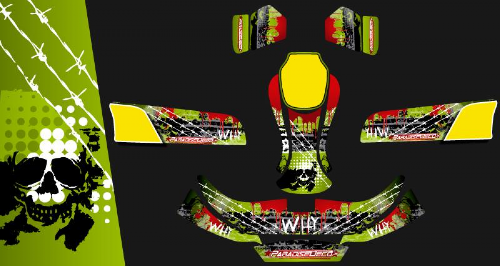 Kit d co karting kg evo murder for Deco karting