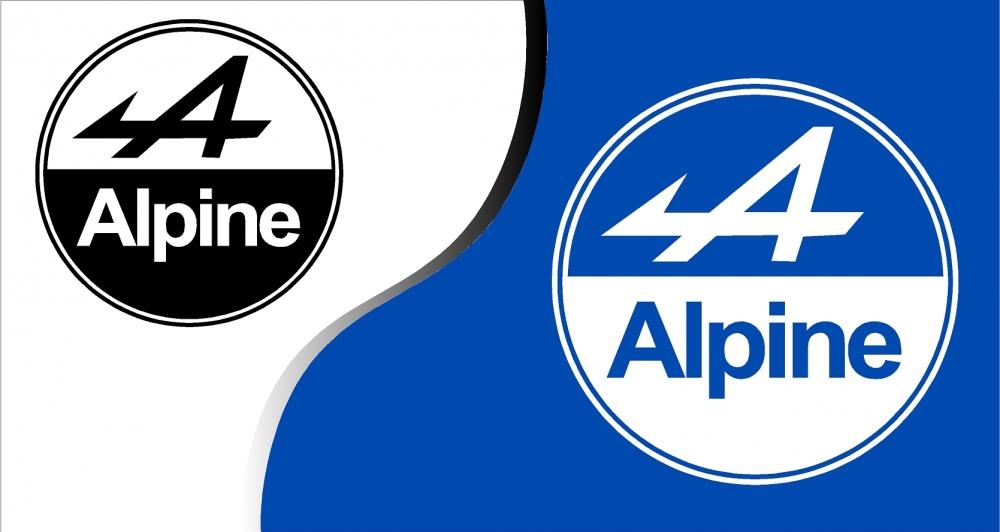 stickers alpine renault 3. Black Bedroom Furniture Sets. Home Design Ideas